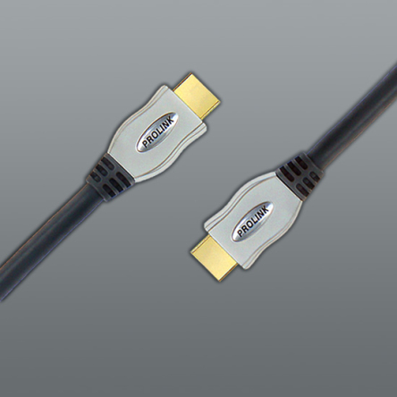Kabel HDMI-HDMI Prolink Exclusive 1.4 HighSpeed 3D 0,6 m.
